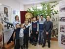 Музей истории завода встречает юных посетителей