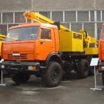 Самоходная буровая установка УРБ-2А-2Д